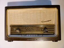 Rundfunkempfänger Röhrenradio Dacapo 9 dunkel - Telefunken Deutschland TFK
