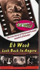 ED WOOD - LOOK BACK IN ANGORA Documentary VHS Rhino Video NEW Sealed