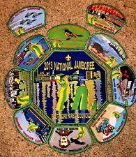 Baltimore Area Council Complete 11 pc Nessie Patch set 2013 National Jamboree