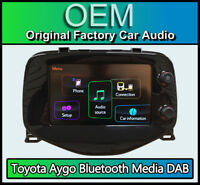 Toyota Aygo car stereo, Bluetooth DAB Radio Media Touch Screen, 86140-0H020