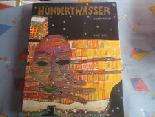 Hundertwasser Harry Rand 1991, 24X30cm großer Band 2cm dick, 240 Seiten