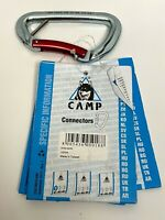 Camp USA Gym Safe Carabiner Red New with Tags Climbing Outdoor Gear