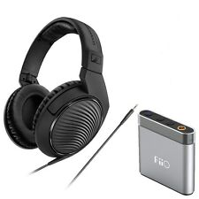 Sennheiser HD 200 Professional Monitoring Headphone + FiiO A1 Headphone Amp Kit