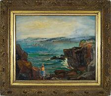 Glen Allison Ranney (American 1896-1959) WPA original oil painting