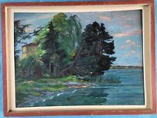 Pinturas escuela de munich castillo Tutzing Starnberg lago Starnberg Sagmeister 22