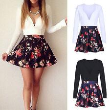 Unbranded Cotton Blend V Neck Shirt Dresses