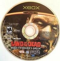 Land of the Dead Road To Fiddler's Green Xbox Video Game RARE Tested Disc Only