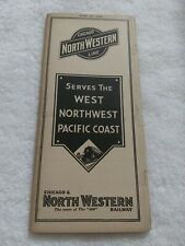 Chicago And NorthWestern Line Train Timetable (1936)