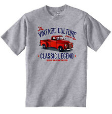VINTAGE AMERICAN CAR CHEVROLET PICK UP TRUCK 1950 - NEW COTTON T-SHIRT
