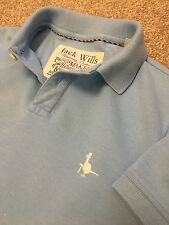 GORGEOUS JACK WILLS POWDER BLUE WEEKEND POLO SHIRT XS EXTRA SMALL XSMALL
