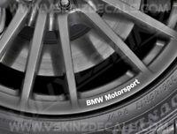 8x BMW Motorsport Logo Premium Quality Wheel Rim Decals Stickers Alpina M3 M4 X3