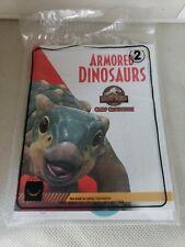McDonald's Happy Meal Armored Dinosaurs 2 Camp Cretaceous JurasicWrld Summer2020