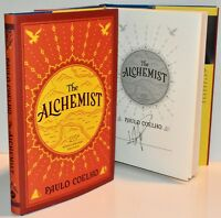 ***SIGNED*** THE ALCHEMIST Anniv Edition by Paulo Coelho (NEW HARDCOVER) HX
