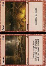 Magic the Gathering MTG 1x Boom // Bust x1 LP x 1 Planar Chaos