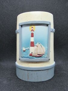 LIGHTHOUSE TOOTHBRUSH CUP - DAVID CARTER BROWN COLLECTION