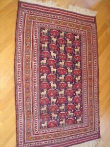 Sumac Embroidery Kilim