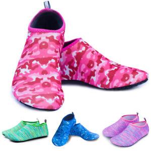 Unisex Mens Women Aqua Shoes Casual Swim Non-Slip Wetsuit Quick Dry Water Shoes