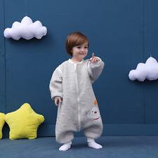 Baby Toddler Kids 100% Cotton Wearable Organic Blanket Sleeping Bag Winter Wrap