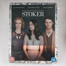 Stoker Blu-ray Steelbook Limited Edition MetalPak UK Import Region Free New