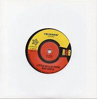 LITTLE WILLIE JOHN    I'M SHAKIN'  / MY NERVES  UK OUTTASIGHT/R&B   NORTHERN/R&B