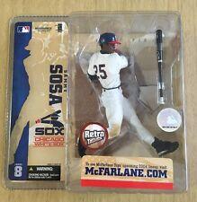Mcfarlane MLB 8 SAMMY SOSA Chicago White Sox RETRO Edition Chase/variant