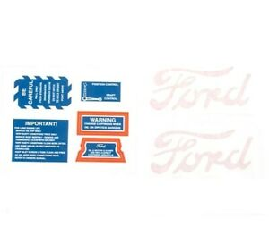 DECAL SET Ford 8N Tractor 1947-49 8N4749D