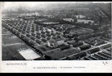 CAMP d'AVORD (18) BASE d'AVIATION en Vue aérienne en 1917