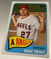 Mike Trout 2020 TOPPS SERIES 1 TOPPS CHOICE #TC-7 California ANGELS