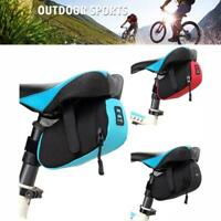 Portable Waterproof Storage Tail Pouch Cycling Bags Bike Bag Bicycle Saddle V0Z1