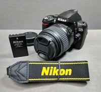 Nikon D40x 10.2MP Digital SLR Camera - Black Kit with 18-55mm AF-S G Lens