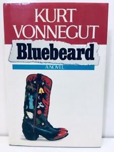 KURT VONNEGUT Bluebeard HARDCOVER w/ DUST JACKET 1st 1987 First Trade Edition