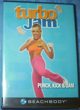 Turbo Jam  - 2  DVD Set -  Beachbody 2007 Charlene Johnson - New