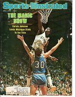 1979 4/2 Sports Illustrated magazine Basketball Magic Johnson,Michigan State Pr