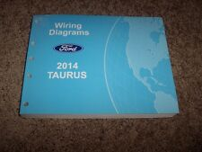 2014 Ford Taurus Electrical Wiring Diagram Manual SE SEL Limited SHO 2.0L 3.5L