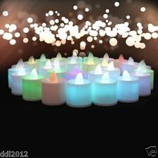 Mini Colorful Romantic Electronic Candle LED Light For Party Wedding Decorate