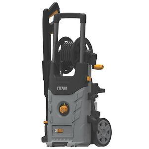 Titan Electric Pressure Washer TTB2200PRW 150 Bar Garden Patio Car Jet Wash Gun