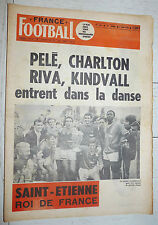 FRANCE FOOTBALL 1261 02/06 1970 AS SAINT-ETIENNE Le doublé ! ASSE MEXICO 70 PELE
