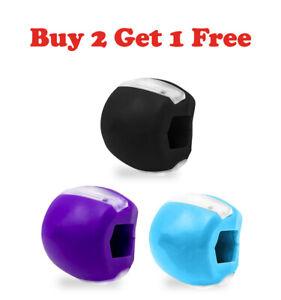 Jawline Jaw Exerciser Fitness Ball Face Mouth Tone Jawzrsize Toning Anti-Wrinkle