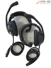 *As-Is* Lot Of 2 Clear-Com Cc-95 Intercom Single Ear Headset
