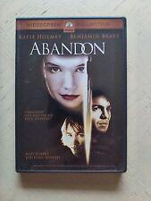 Abandon DVD 2002 - Katie Holmes