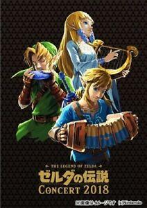 Game Music - Legend Of Zelda Concert 2018 (Original Soundtrack) [New CD] Japan -