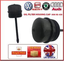 OIL FILTER HOUSING CAP AUDI SKODA SEAT VW 1.9 SDi, 1.9TDi OEM 038115433