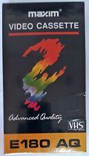 Cinta video VHS Maxim 3 horas Grabación Mx759