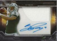 2015 Topps Strata Clear Cut Rookie Relic Autographs Bryce Petty Auto Patch
