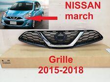 NISSAN MARCH HATCHBACK Front Grille Grill Genuine Parts 2015-2018 5 DOOR NEW