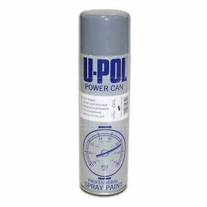 U-POL Etch Primer Grey Spray Aerosol 500ml Power Can Galvanised Alluminium Steel