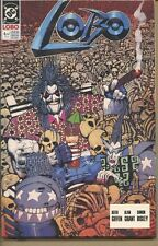 Lobo 1990 series # 4 near mint comic book