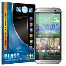 100% GENUINE ITEC TEMPERED GLASS FILM SCREEN PROTECTOR GUARD FOR HTC ONE M8