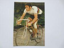 wielerkaart 1974 team molteni  wk eddy merckx