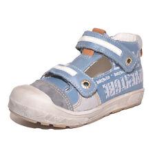 Babybotte Garçons SEATTLE Bleu Cuir Ventilé Chaussures UK 4 EU 20 US 4.5 RRP £ 52.00